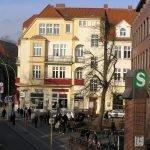 Einkaufsstrasse in der nähe der Prinzen-Residenz in Berlin Zehlendorf