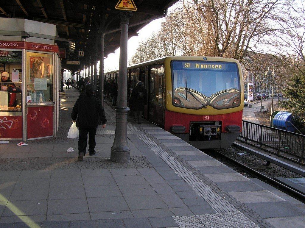 Der S-Bhf Zehlendorf in Berlin