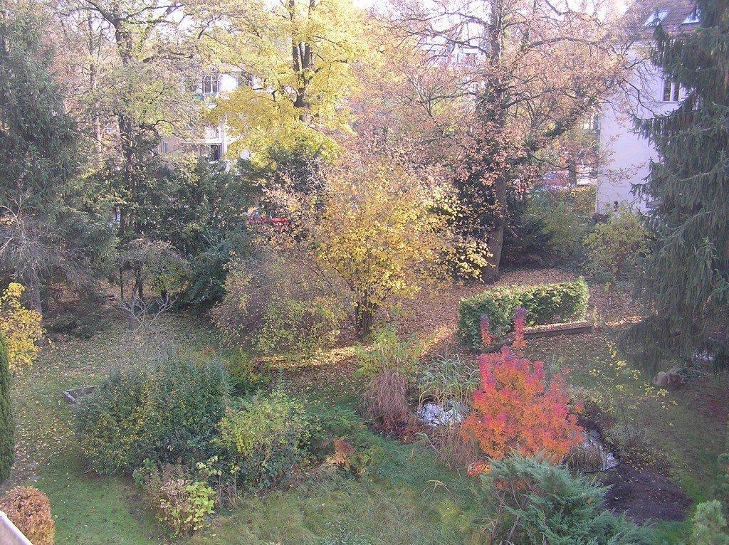 Garten der Prinzen-Residenz in Berlin