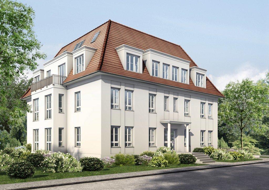 Strassenansicht der Prinzen-Residenz in Berlin Zehlendorf